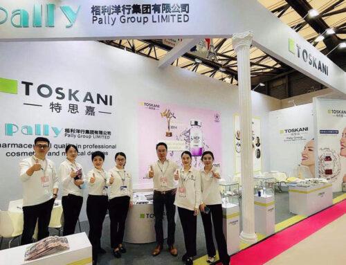 Toskani participó en el evento de China Beauty Expo que se desarrolló en Mayo 2021